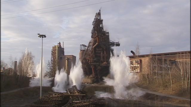 Le HF6 de Seraing a été dynamité ce vendredi (vidéo)