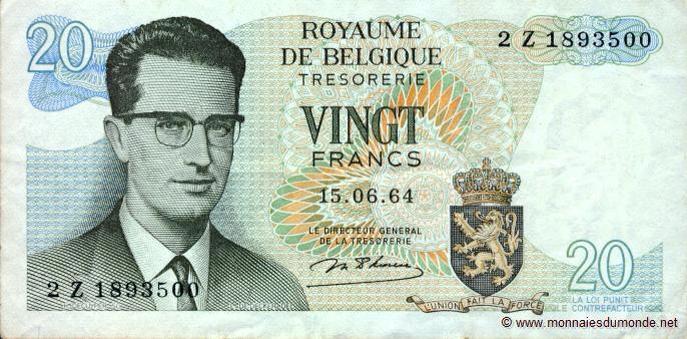 Billet de 20 francs