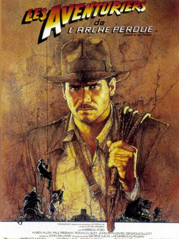 SPIELBERG, Steven The Raiders of the Lost Ark (Les aventuriers de l'Arche perdue, film, 1981)