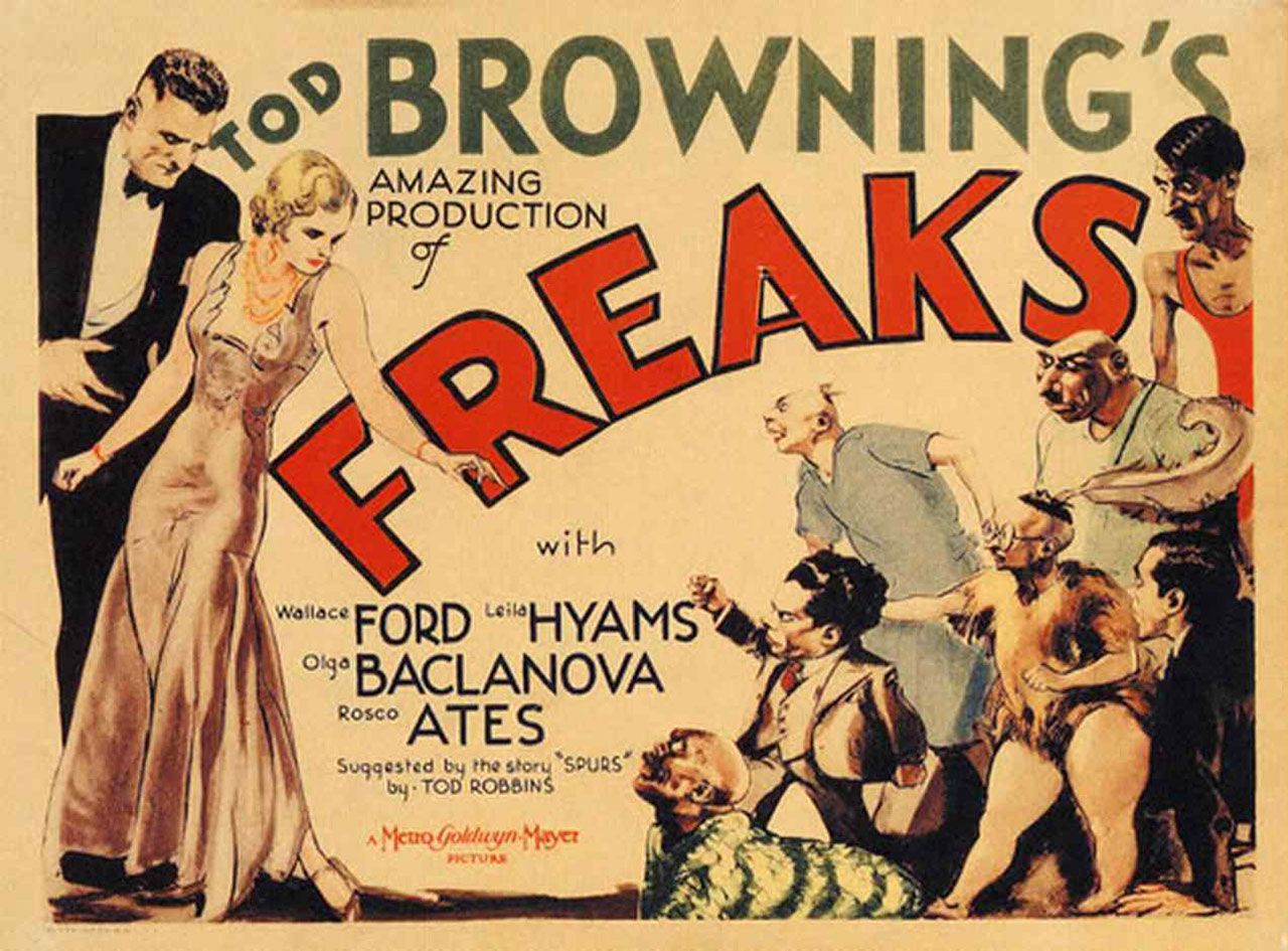 BROWNING, Tod Freaks (La monstrueuse parade, film, 1932)