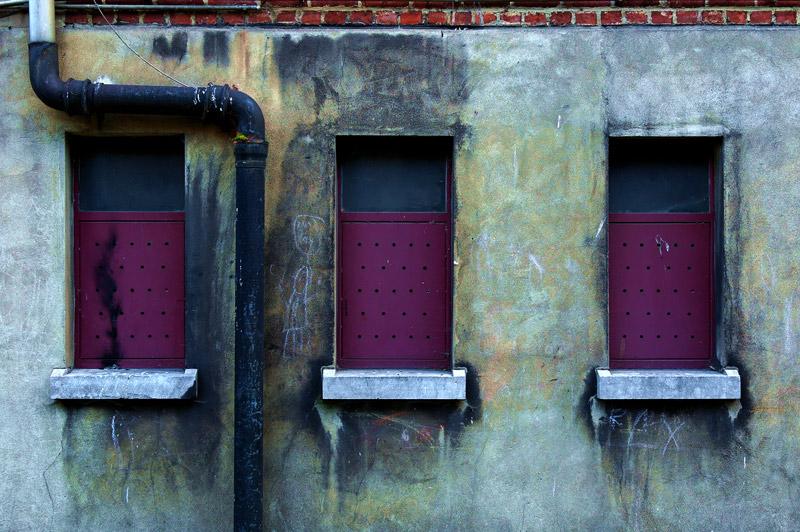 Fabris REMOUCHAMPS : Trois fenêtres 4/11