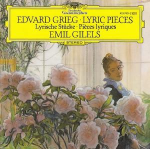 GRIEG, Edvard (1843-1907) Mélodie (Op. 47 n°3) par Emil GILELS