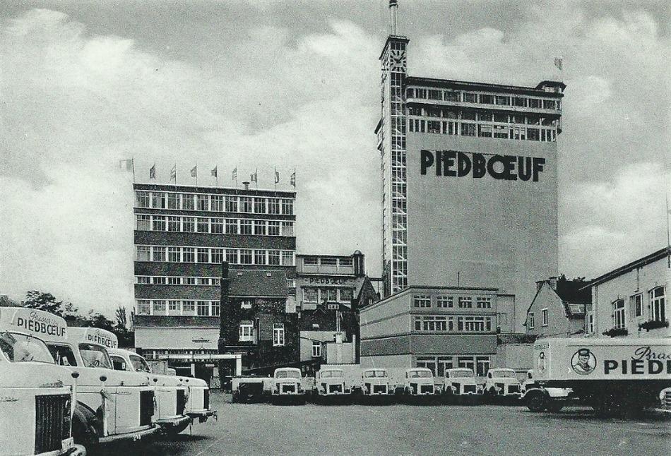 Vue de la brasserie Piedboeuf à Jupille (Liège, BE)