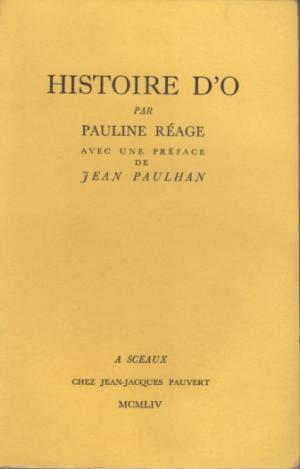 REAGE, Pauline Histoire d'O (JEAN-JACQUES PAUVERT, 1954)