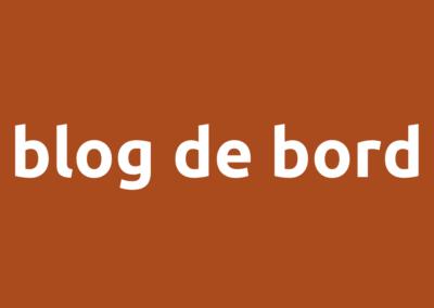 Blog de bord