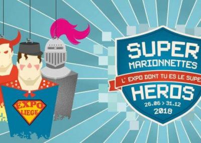 Expo : Super marionnettes héros…