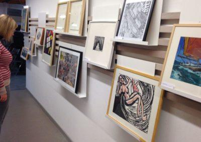 Les Chiroux ouvrent une Artothèque (RTBF, 2014)